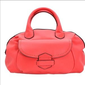 Coral Soft Satchel-Medium